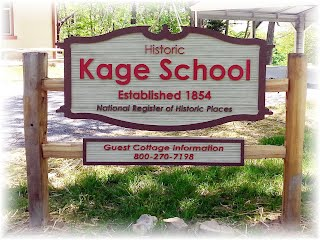 Kage School Sign